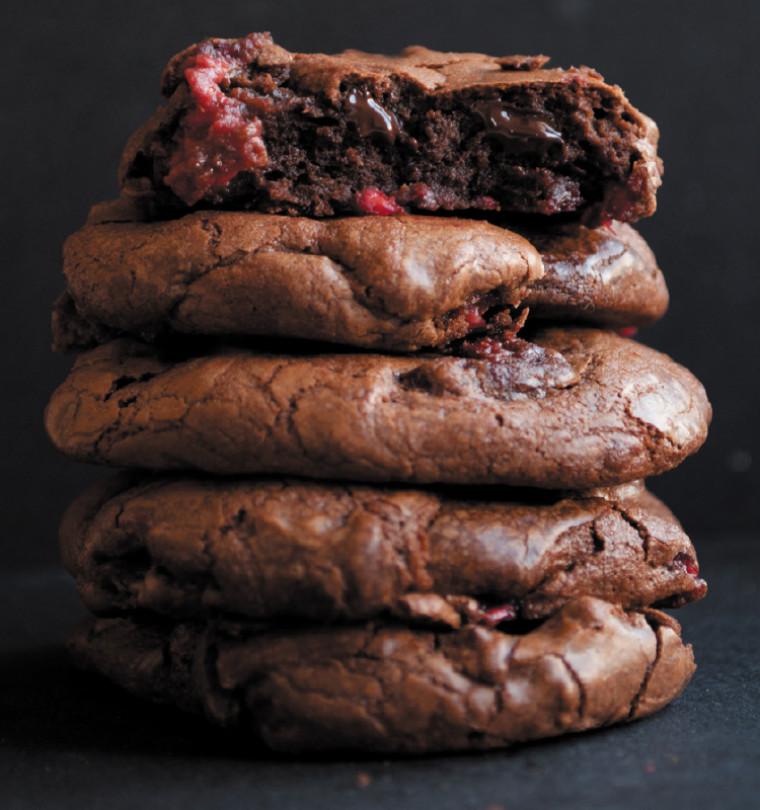 Cookies Chocolat Framboises